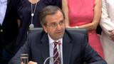 Samaras vient plaider la cause de la Grèce à l'Elysée
