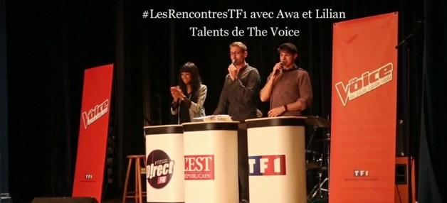 #LesRencontresTF1 avec Awa et Lilian, talents de The Voice !