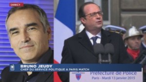 Bruno Jeudy chef service politique Paris Match