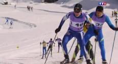 Ils chaussent leurs skis pour passer une épreuve du baccalauréat