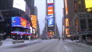 Le 20 heures du 27 janvier 2015 : Tempête de neige : New York, ville blanche et fantôme - 1640.6023223876948