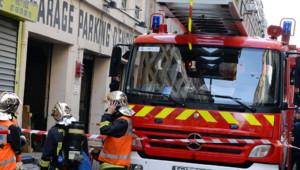 Paris parking explosion