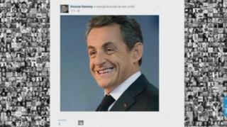 """Départementales : Sarkozy change de sourire sur Facebook, Jean Roucas et """"Heil Hollande"""""""