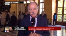 """Vote de confiance : """"On est loin de l'accord passé avec les Verts"""" selon Mamère"""