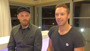 """Le 20 heures du 13 décembre 2014 : Chris Martin de Coldplay : """"Notre vie est un peu folle"""" - 2034.2509552612305"""