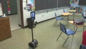 Le robot remplace l'élève aux USA