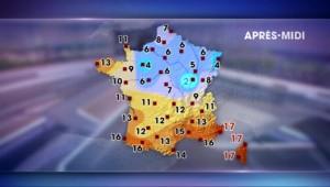 Les prévisions météo du jeudi 10 décembre 2015