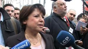 Martine Aubry PS Conseil national