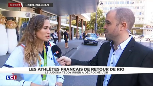 """Élodie Clouvel, vice-championne olympique de pentathlon : """"J'espère qu'on a fait rêver les gens"""""""