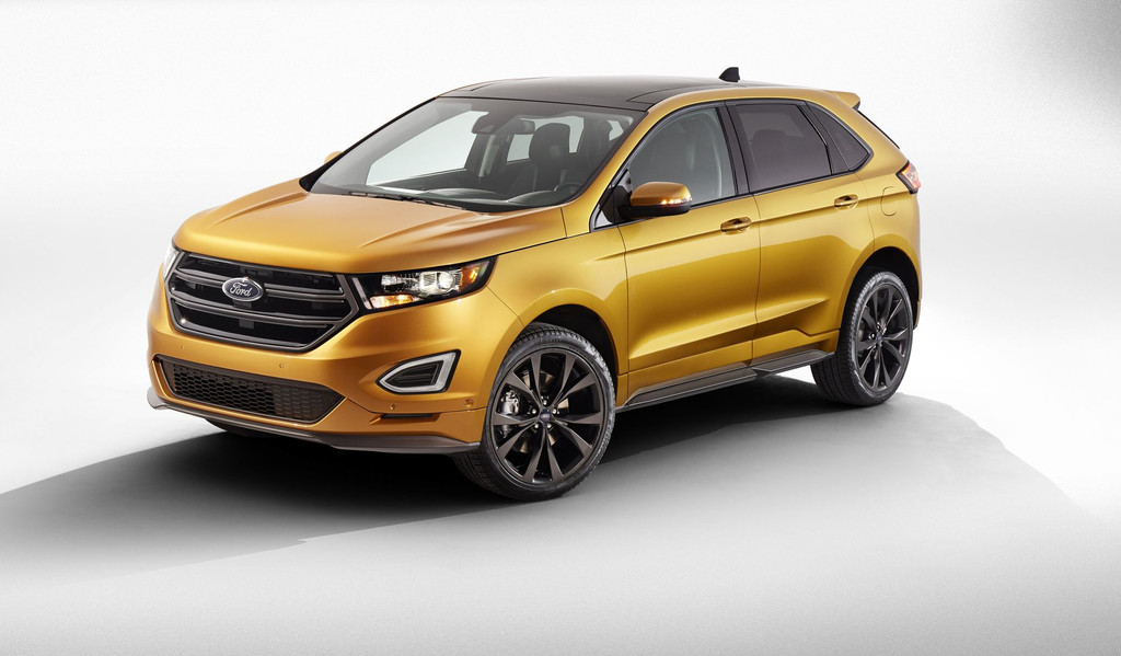photos automoto le ford edge 2015 en photos officielles mytf1. Black Bedroom Furniture Sets. Home Design Ideas