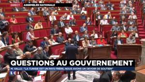 """Valls sur le terrorisme : """"La Tunisie est un pays frère, nous avons un devoir de soutien"""""""