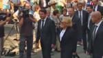 Bernadette Chirac aux obsèques de Charles Pasqua