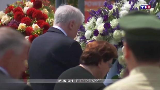 Fusillade : Munich entre tristesse et incompréhension