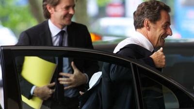 Nicolas Sarkozy et François Baroin