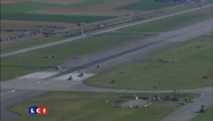 Solar Impulse se pose après 26 heures de vol