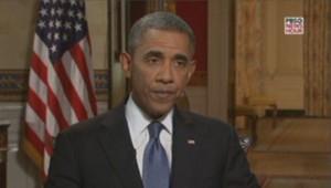 Barack Obama, interviewé sur PBS le 28/8/13