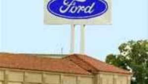 Ford motor group enseigne usine automobile usa (AFP)