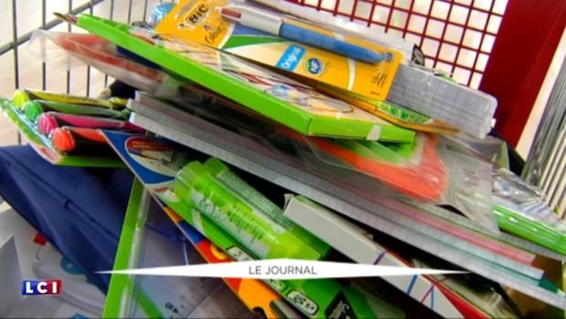 Grâce au Secours populaire, des fournitures scolaires gratuites pour les plus modestes