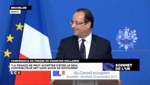 Le bon mot de Hollande à un journaliste
