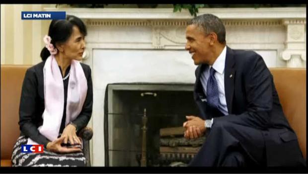 Obama déroule le tapis rouge pour Aung San Suu Kyi