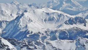 Panoramique Valfréjus Avalanche