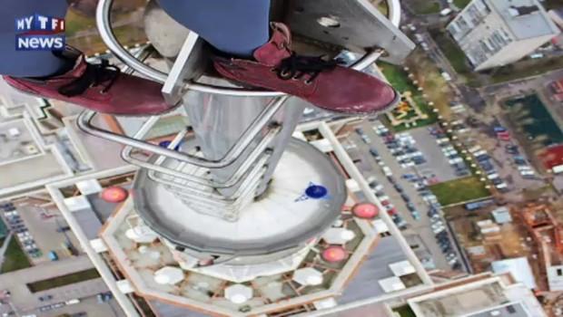 """""""Pas de limite, pas de contrôle"""", cette Russe escalade les plus hauts gratte-ciels du monde"""