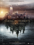 Affiche prventive du film The Mortal Instruments - La Cit des Tnbres