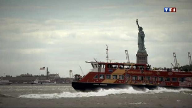 La statue de la Liberté, l'un des symboles de New York