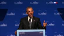 """Le 20 heures du 1 septembre 2015 : Climat : """"Nous n'agissons pas assez vite"""", affirme Obama - 1499"""