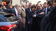 """Le 20 heures du 22 novembre 2014 : Hollande en d�acement �ille : """"Toujours agr�le et utile d%u2019�e avec Martine Aubry"""" - 197.54363910675045"""
