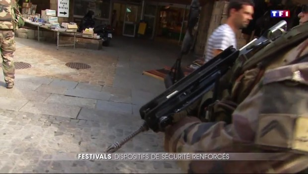 Sécurité maximum au festival de Cornouaille