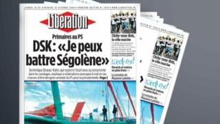 TF1/LCI : La Une de Libération du samedi 28 octobre 2006