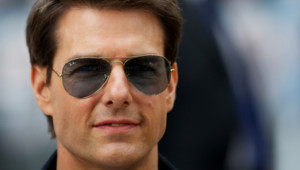 Tom Cruise lors de l'avant-première du film Rock Forever à Londres