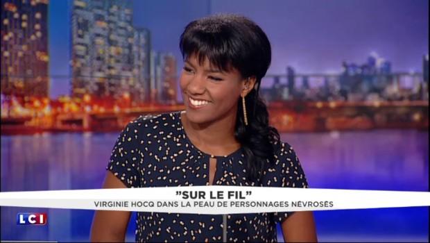 """Virginie Hocq, humoriste : """"Le corps est une pâte à modeler"""""""