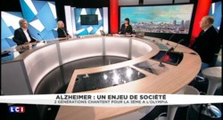 """2 générations chantent pour la 3e à l'Olympia : Souchon, Bruni, Leroy interprètent """"Vole"""" pour Alzheimer"""