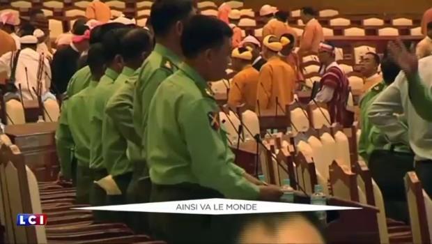 Birmanie : le parti d'Aung San Suu Kyi découvre le Parlement