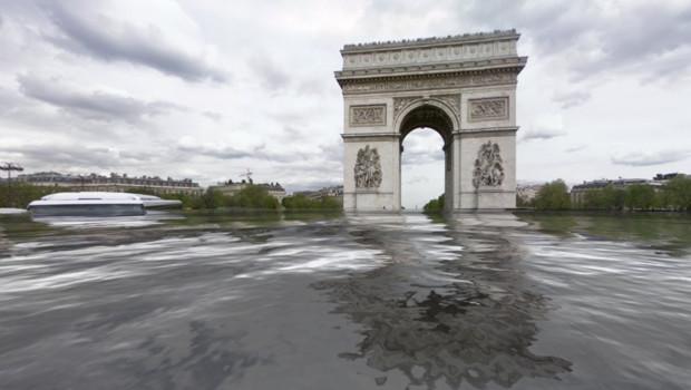 Grâce au site worldunderwater.org, il est possible de découvrir son quartier sous les eaux.