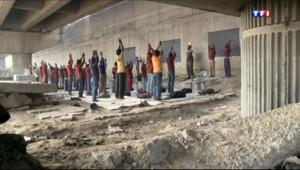 Le 20 heures du 13 janvier 2014 : A New Dehli, on fait l%u2019�le sous un pont - 1488.6969999999997