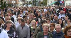 Le 20 heures du 26 avril 2015 : Plusieurs centaines de personnes à Caudry pour rendre hommage à Aurélie Châtelain - 1212.6749999999997