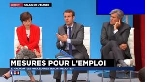"""Plafonnement des indemnités aux prud'hommes : """"Les procédures seront réduites"""" promet Macron"""