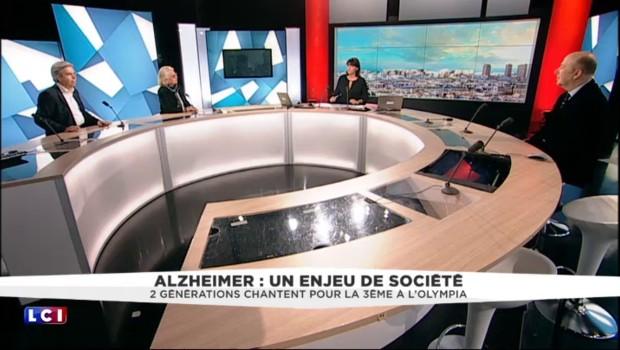 Souchon, Bruni, Leroy chantent pour la luttre contre Alzheimer : extrait