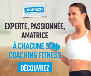 A chacune son coaching fitness avec Décathlon