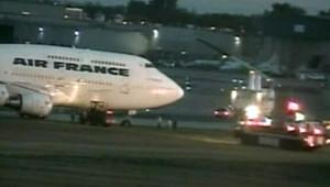 Avion Air France : atterrissage mouvementé au Canada