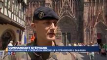 Canicule : en plein plan vigipirate, les militaires font face à la chaleur