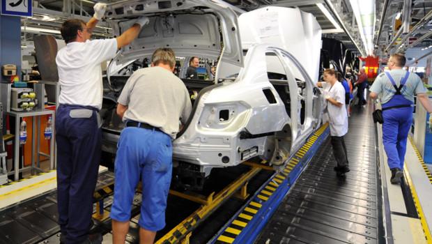 employés d'un constructeur automobile allemand