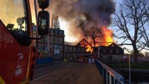Incendie Caen
