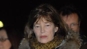 Jane Birkin le 11 mars 2012 à Paris
