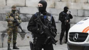 La police et l'armée belge