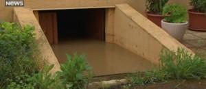Voitures englouties, routes coupées... tour de France des inondations les plus impressionnantes