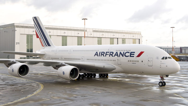 Les diff rents types d 39 appareils for Interieur avion air france